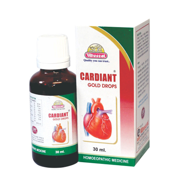 WHEEZAL CARDIANT GOLD DROPS